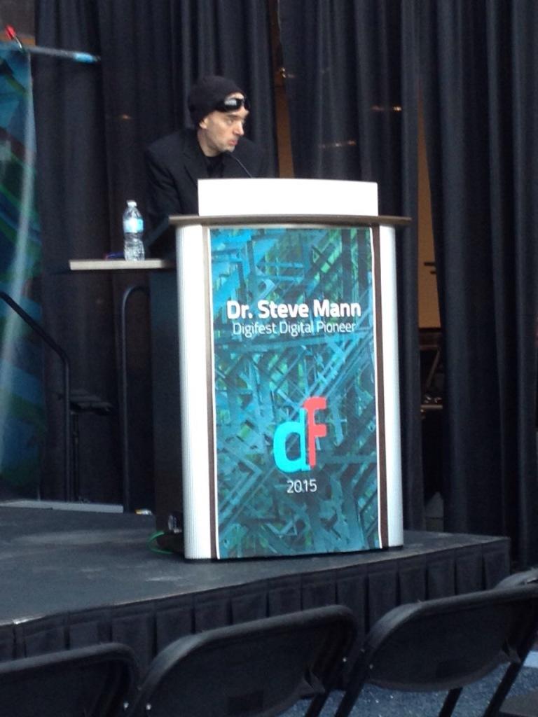 Steve Mann, digifest 2015