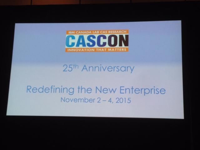 CASCON 2015