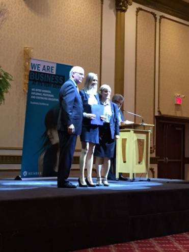 Michelle Conrad, e-Business Excellence Award
