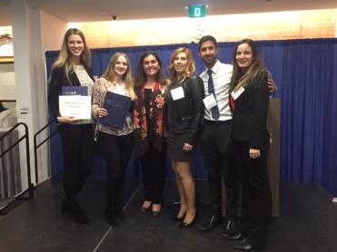 Award Winners: Valery, Irina, Lyndsay, Rahim, Christine