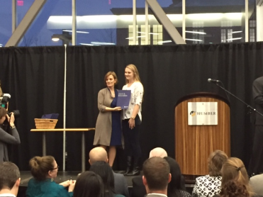 Christine Howald, Bachelor of Commerce Digital Business Management Leadership Award