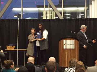 Farihah Chowdhury, Bachelor of Commerce Digital Business Management Leadership Award