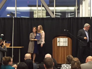 Irina Gorea, Bachelor of Commerce Digital Business Management Leadership Award, HSBC Bank Canada Scholarships, Patricia and David William McKee Golden Anniversary Award