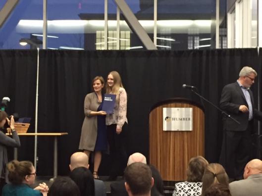 Irina Gorea, Bachelor of Commerce Digital Business Management Leadership Award, HSBC Bank Canada Scholarships, Patricia and David William McKee Golden Anniversary Award