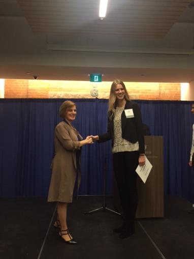 Valery Skapare, HSBC Bank Canada Scholarships