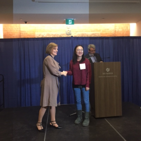 Xi Zheng, Nelson Education Publishing Award, Digital Business Management Faculty Award