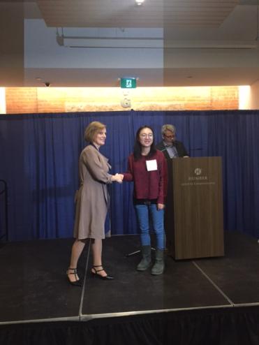 Xi Zheng, Nelson Education Publishing Award, Digital Business Management Faculty Award