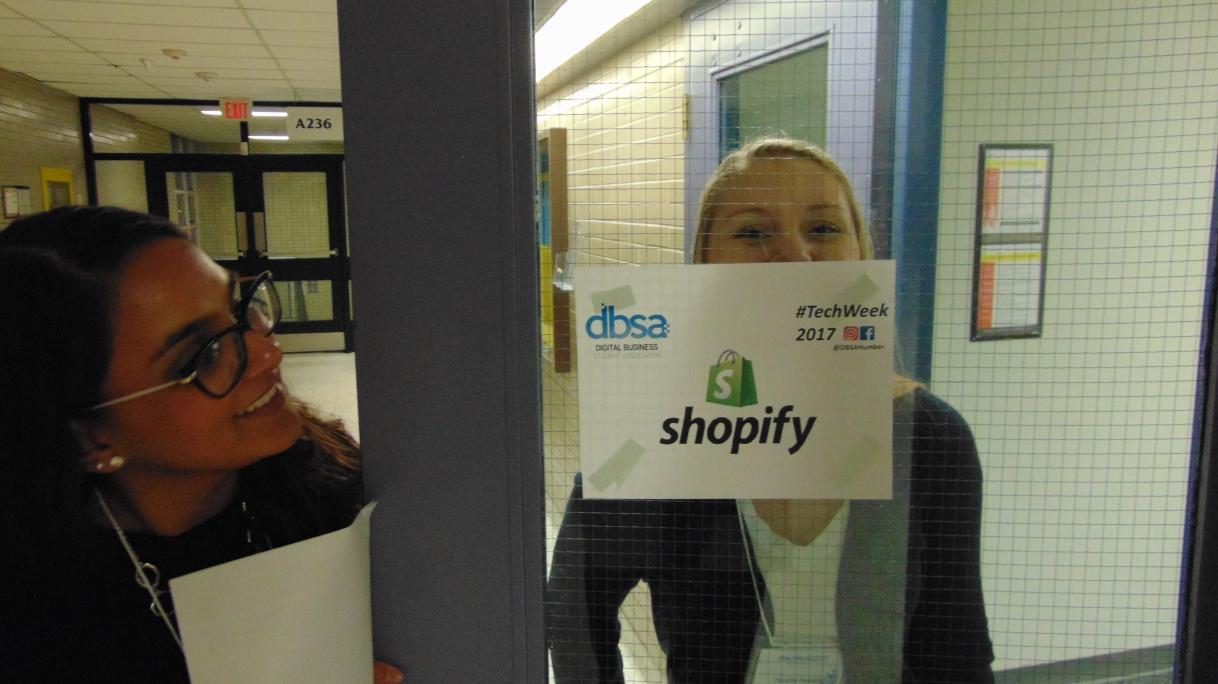 DBSA's Tech Week featured in our Dean'sNewsletter