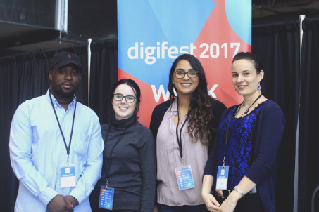 DBM Students Attend Digifest 2017