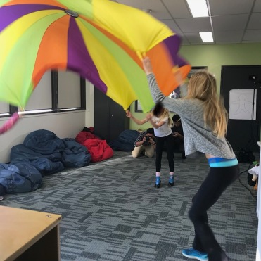 Humber students working with Ripple Effect Children's Services