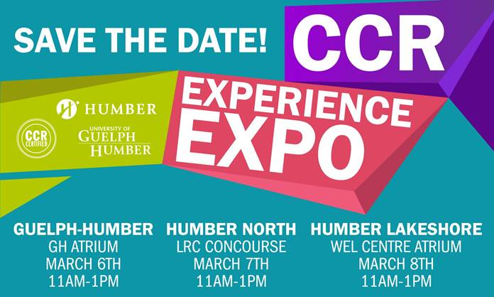 Save the Date: CCR Experience Expo