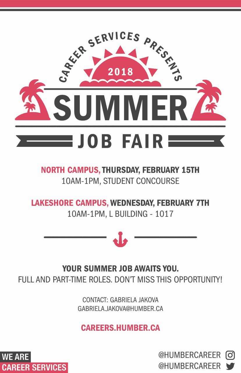 Summer Job Fair2018