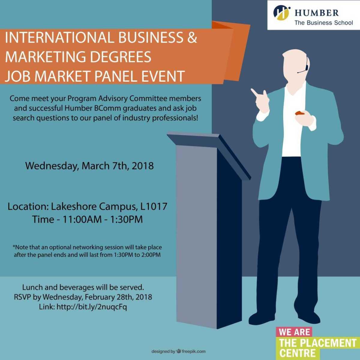 Job Market Panel (Wednesday, March7)