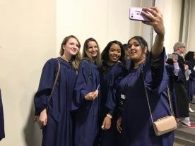 Marshalling Room Selfies