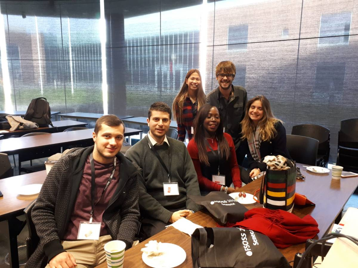 Digital Business students attend FSOSS 2018