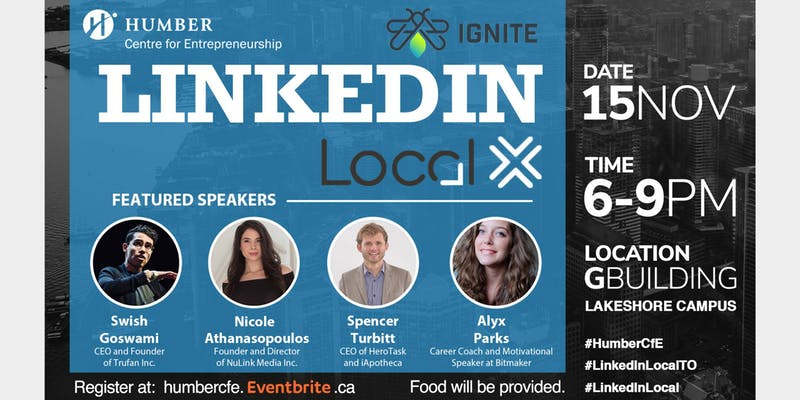 Join CFE & IGNITE For The First Ever LinkedInLocal