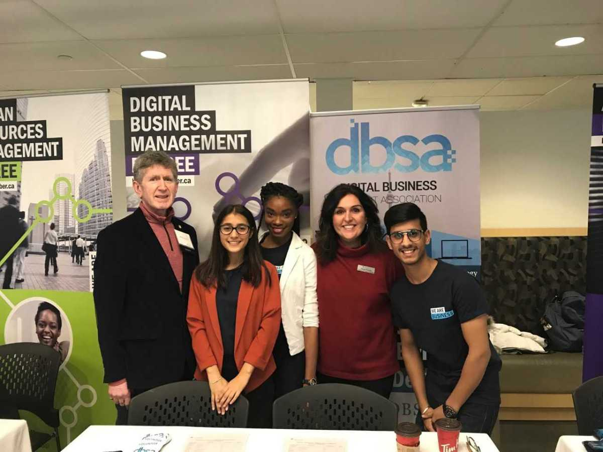 Thanks to the DBSA team for their hard work at Open House!