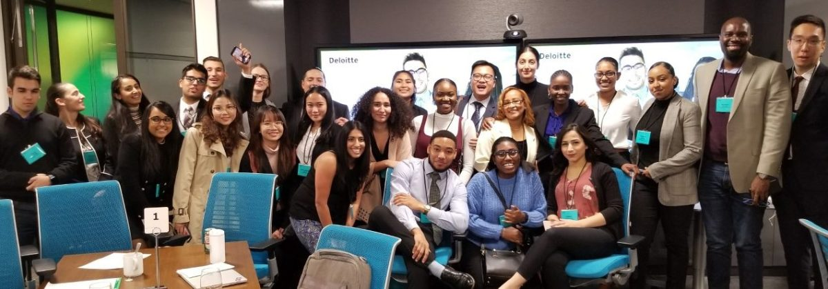 BComm students attend Deloitte event